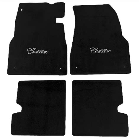 2007 Cadillac Cts Floor Mats by 2003 2007 Cadillac Cts Cutpile Floor Mats With Signature