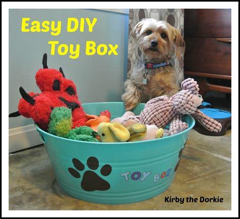 easy diy toy box kirby  dorkie