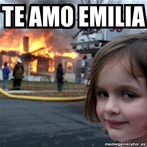 Disaster Girl Meme Generator - meme disaster girl te amo emilia 20524705