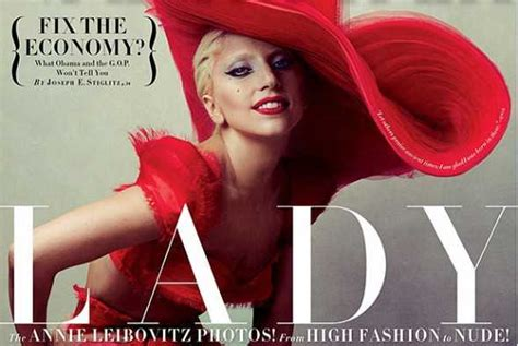 Vanity Gaga Lyrics by Gaga Goes Back To Roots In Quot Vanity Fair Quot Popdust