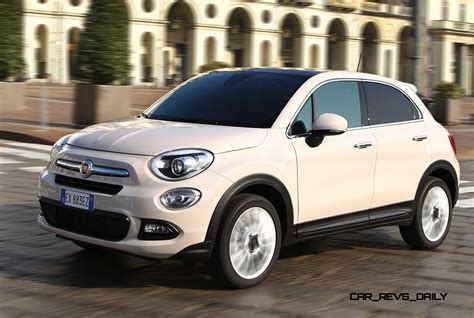 2016 fiat 500x lounge is right sized city softroader with