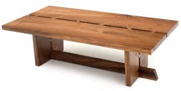 Contemporary Wooden Coffee Tables Contemporary Wood Coffee Table Solid Wood Modern Decor