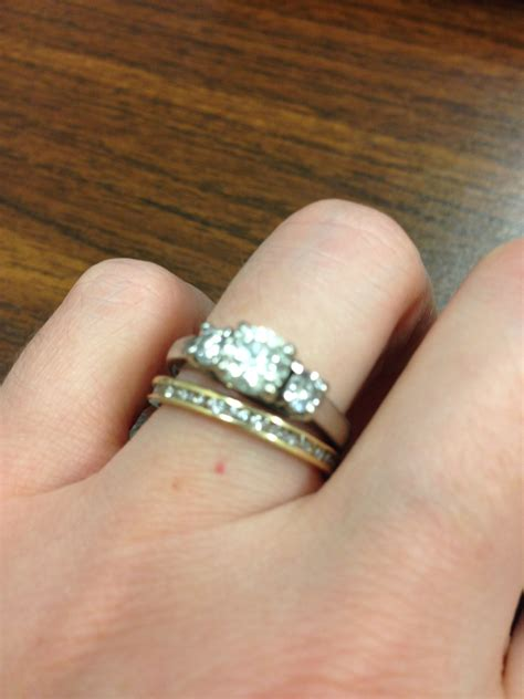 wedding rings engagement ring ceremony wording what