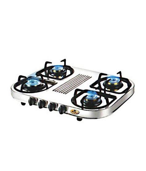 bajaj steel price bajaj stainless steel 4 burner cx 10 d price in india