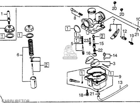 honda spree carburetor diagram 1986 honda spree carburetor diagram honda auto wiring
