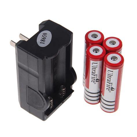 Baterai Ultrafire 3 7v 4000mah 4x18650 4000mah 3 7v li ion ultrafire brc rechargeable