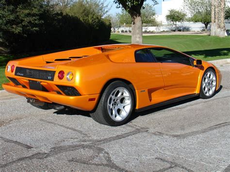 Lamborghini Diablo 2001 2001 Lamborghini Diablo Previously Owned By Nicolas Cage