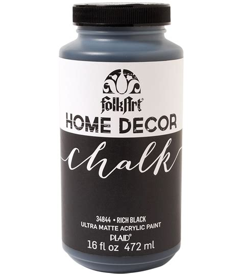 chalk paint joann folkart home decor chalk paint 16oz jo
