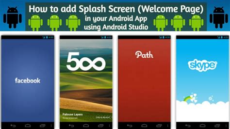 android studio tutorial splash screen android studio splash screen tutorial how to add a