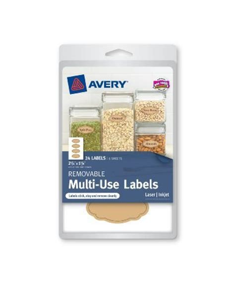 Avery Oval Easy Peel Labels 2 Quot X 3 1 3 Quot Glossy White 80 Pack Walmart Com Avery Oval Labels 22829 Template