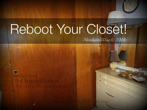 restart your wardrobe flylady simplified marilyn s way