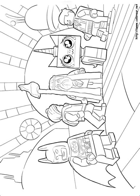 lego kitty coloring pages dibujos para colorear de lego batman