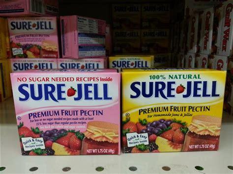 Fruit Pectin Detox Drink by Kraft Halts Sure Jell Production Recipe Mistake