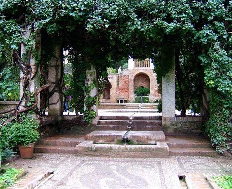 Granada Gardens alhambra generalife