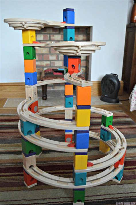 hape cyclone quadrilla marble run review rocknrollerbaby - Which Hape Marble Run Quadrilla