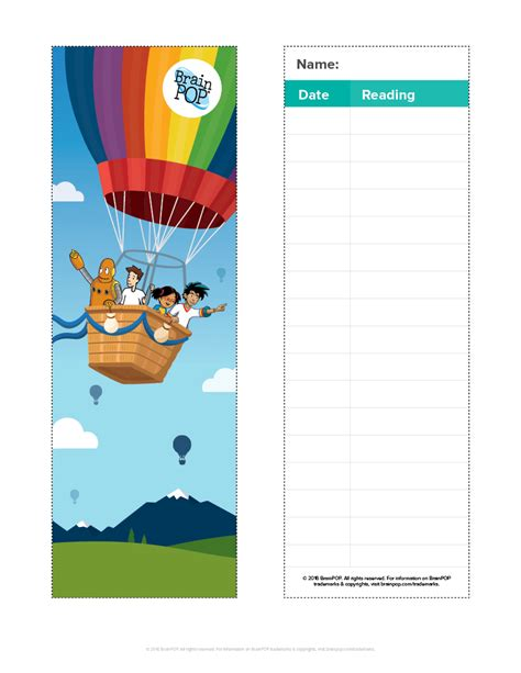printable nonfiction bookmarks fun resources calendar clipart certificates and more