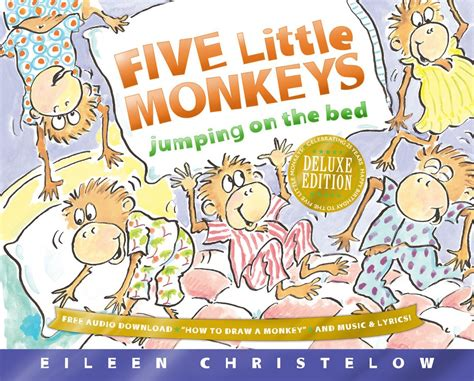 five little monkeys jumping on the bed book five little monkeys jumping on the bed pajama party eileen christelow the odyssey