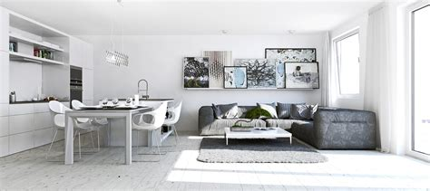 white apartment 11 ways to divide a studio apartment into multiple rooms