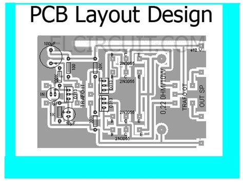 layout design in pcb pcb layout design top view pcb s layout design pinterest