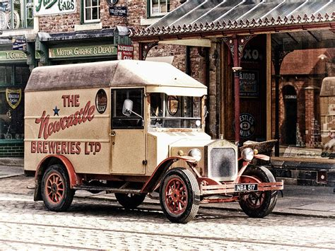 Uk Home Decor Blogs by Vintage Delivery Van Photograph By Robert Murray