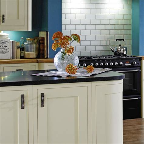 b q kitchen islands earthstone worktop from b q budget kitchens 10 of the best housetohome co uk