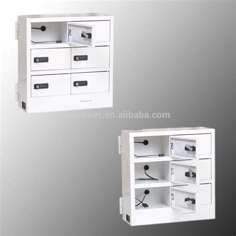 Can Cell Cabinets storage cabinet box cell phone charging station