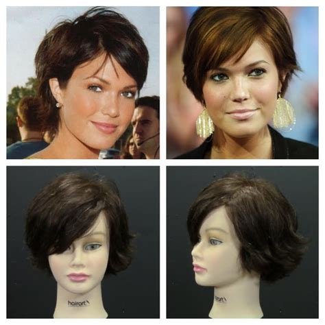 long pixie cut tutorial mandy moore pixie haircut inspired tutorial celebs