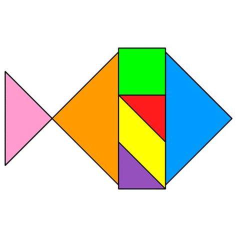 figuras geometricas que forman el tangram las 25 mejores ideas sobre tangram en pinterest tangram