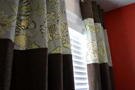 how to add length to curtains customizing and lengthening store bought curtain panels