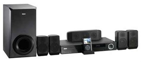 rca rtd615i dvd home theater system with dock home