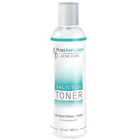 Toner Acne Treatment salicylic antibacterial toner envision skin care center poreinfusion acne care products