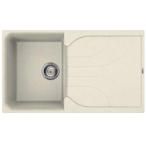 cream kitchen sinks kitchen sinks taps reginox ego 400 cream sink