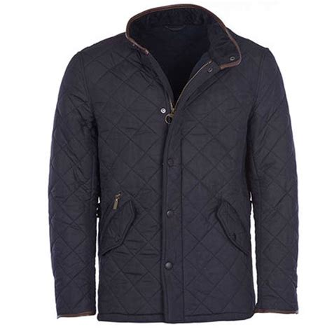Barbour Quilted Jacket Navy by Barbour Powell Quilted Jacket Navy