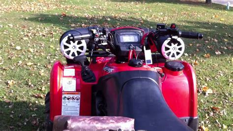 boat speakers without atv speaker with kicker marine 6 quot speakers youtube