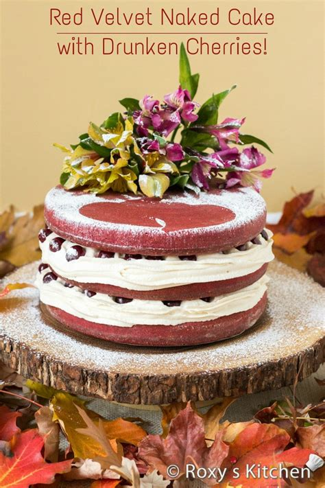 Kitchen Ideas For Small Kitchen by Red Velvet Cake With Drunken Cherries For Our 5th