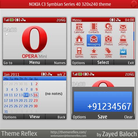 facebook themes opera mini opera mini theme for nokia c3 x2 01 updated themereflex
