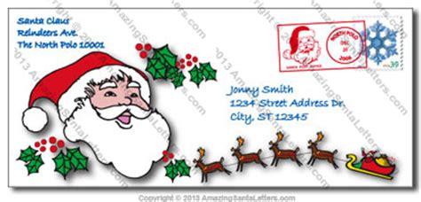 free printable envelope from santa template amazing santa post office