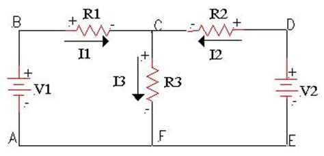 direction of current through a resistor kirchhoff s multi loop direct current circuits