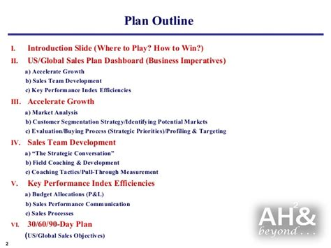 global marketing plan template exle global sales marketing business plan