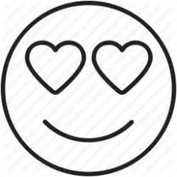 emoticon eyes happy heart love smile icon icon engine
