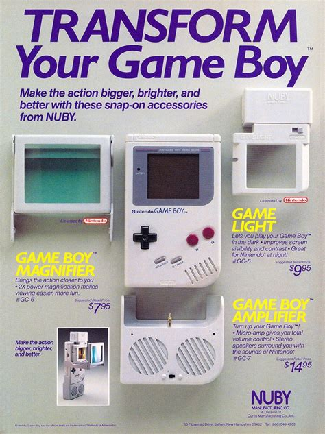 gameboy color accessories gameboy accessories from nuby jpg nintendo gameboy