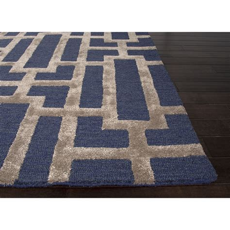 decor navy blue and area rug for flooring decoration