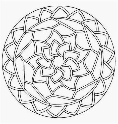simple mandala coloring pages pdf mandalas para colorear pintar e imprimir
