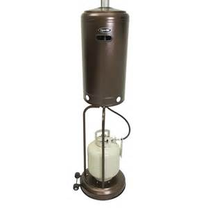 B Q Patio Heater Dyna Glo Deluxe Patio Heater Propane 41 000 Btu Hammered Bronze Dgph101br By Ghp Inc