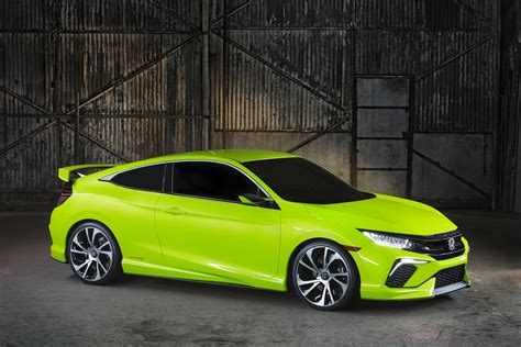 future honda civic honda civic concept makes appearance in york