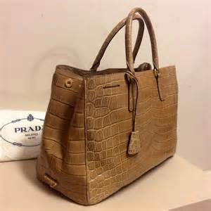 Introducing Chanel Faux Croc Purse by Prada Brown Crocodile Crossbody Bag Faux Croc Handbags