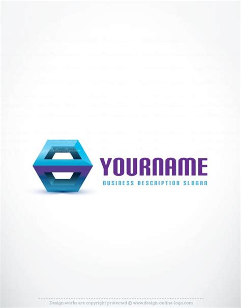 exclusive logo template 3d logo image free business