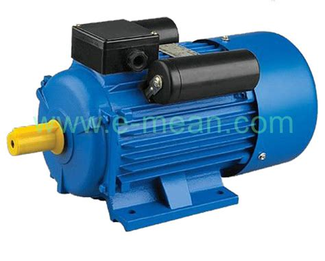 electric induction motor for sale single phase 220v ac induction motors asynchronous from fuzhou emean electric machinery co