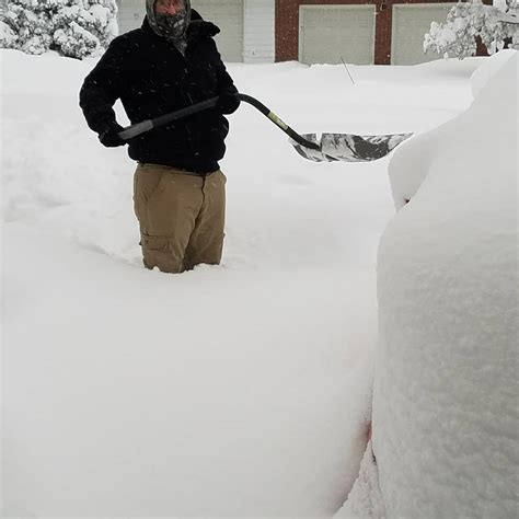 Records Pennsylvania Lake Effect Snowstorm Hammers Erie Pennsylvania Shattering At Least One All Time