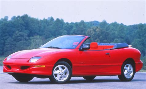 1996 pontiac sunfire convertible car and driver
